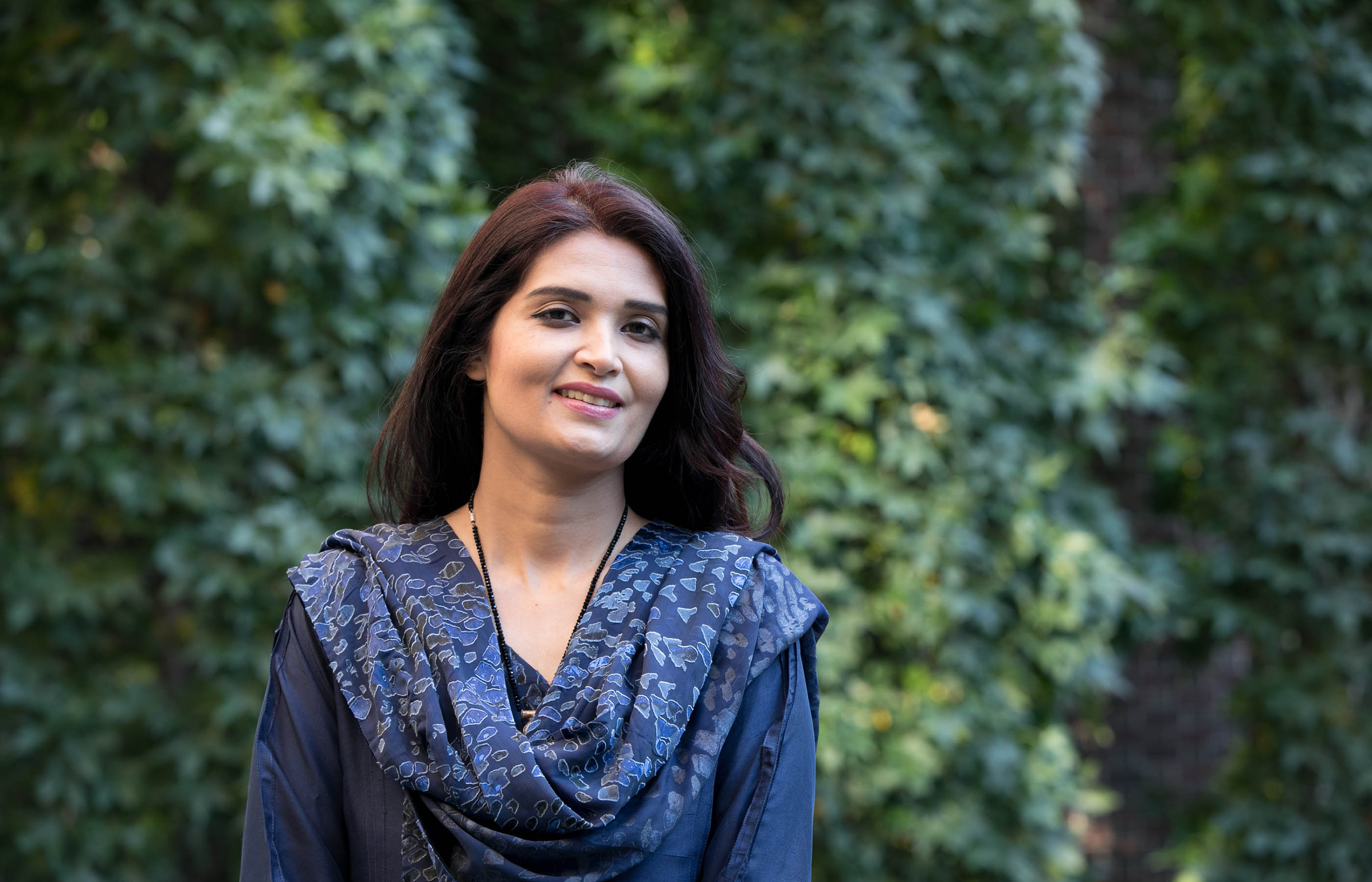 Ujala Nayyar is a surveillance officer for the World Health Organization in Pakistan's Punjab province